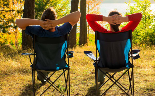 Heavy Duty Camping Chairs 400 lbs
